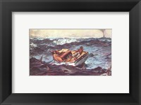 Framed Winslow Homer Storm