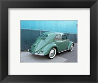 Framed 1949 VW Beetle