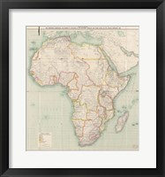 Framed Africa 1909, Edward Hertslet