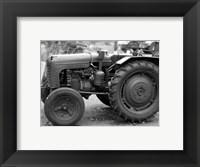 Framed Tractor (black & White)