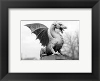 Framed Dragon Statue