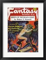 Framed Avon Fantasy Reader 1948 Cover