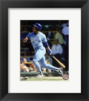 Framed Bo Jackson Action