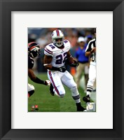 Framed Fred Jackson 2011 Action