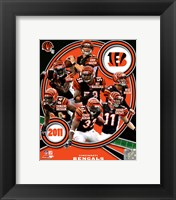 Framed Cincinnati Bengals 2011 Team Composite