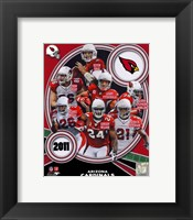 Framed Arizona Cardinals 2011 Team Composite