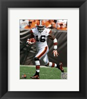 Framed Josh Cribbs 2011 Action