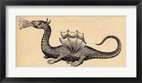 Framed Medieval Dragon II