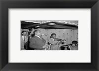 Framed Charlie Parker, Tommy Potter, Miles Davis, Duke Jordan, Max Roach