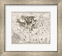 Framed Constellation  Saint Michael