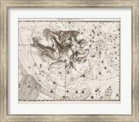 Framed Constellation  Saint Michael
