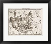 Framed Constellation  Saint Peter's Boat