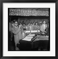 Framed D. Gillespie, J. Lewis, C. Payne, M. Davis, R. Brown