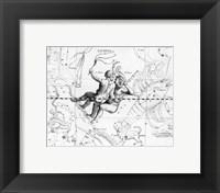 Framed Gemini Hevelius
