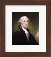 Framed George Washington, 1795
