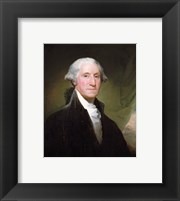 Framed George Washington, 1795