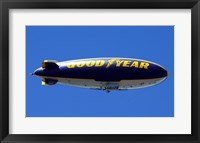 Framed Goodyear Blimp