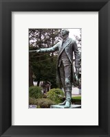 Framed George Washington Statue, Waterford
