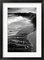 Framed Hawaiian Beach