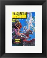 Framed Imagination Cover October 1950