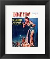 Framed Imagination Cover October 1954
