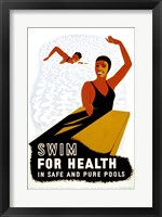 Framed Swim for Health