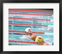 Framed US Swimmer Susan Rapp