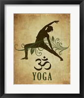 Framed Yoga pose