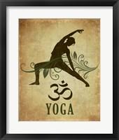 Framed Yoga pose