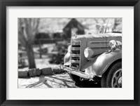 Framed Fire Engine -  Jerome, Arizona