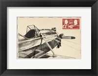 Small Vintage Air Mail I Framed Print