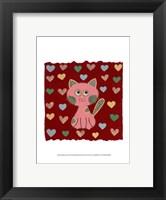 Framed Whimsy Kitty