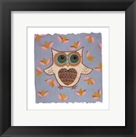 Whimsy Owl Framed Print