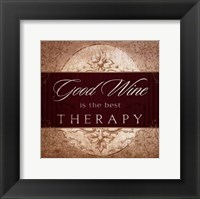 Wine Inspiration V Framed Print