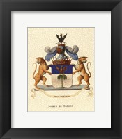 Framed Stately Heraldry II