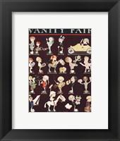 Framed John Held Vanity Fair 1921