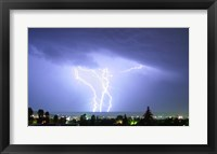 Framed Lightning