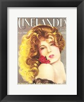 Framed Lili Damita CINELANDIA Magazine