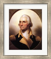 Framed Portrait of George Washington