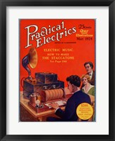 Framed Practical Electrics March 1924 Cover