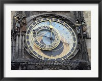 Framed Prague - Astronomical Clock Detail