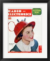 Framed Radio Electronics Cover June 1949