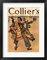 Framed Reuterdahl Colliers Cover June 20 1908