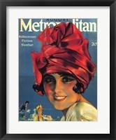 Framed Rolf Armstrong Metropolitan Jan 1918