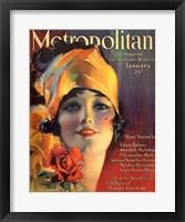 Framed Rolf Armstrong Metropolitan Jan 1919