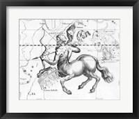Framed Sagittarius Hevelius