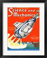 Framed Science and Mechanics Nov 1931 Cover