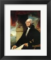 Framed Stuart George Washington Constable 1797