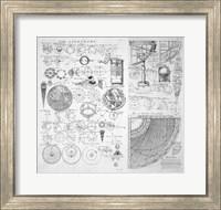 Framed Table of Astronomy