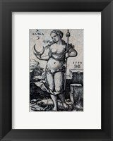 The Seven Planets - Cancer, the Moon Framed Print